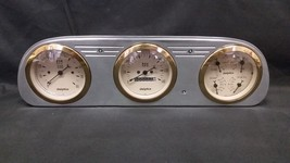 1960 1961 1962 1963 FORD FALCON 3 GAUGE CLUSTER GOLD - $326.90