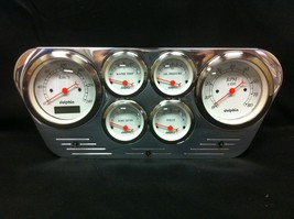 1953 1954 1955 FORD TRUCK 6 GAUGE GAUGE CLUSTER METRIC - $242.75