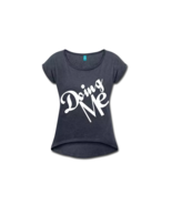 Doing Me Rolled Sleeve Boxy T-Shirt - $36.99