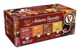 96-Count Victor Allen Autumn Variety Pack Coffee Pods For Single Serve - $29.67