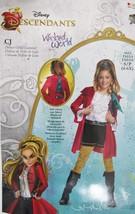 Descendants Wicked World CJ Hook Girls Deluxe Outfit Costume Sz S/P (4-6... - $20.58