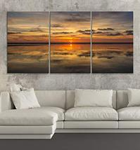 "BoxColors LARGE 30""x 60"" 3 panels 30x20 Ea Art Canvas Print Sun Nature b... - $109.00"