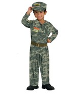 Toddler Soldier Halloween Costume  Size 2-4 Years - $20.00