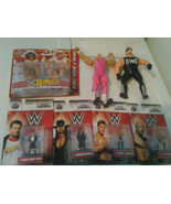 WCW WWF WWE 90s raw Lot Of 7 Hogan, Piper, Warrior, Undertaker, Rock, Br... - £9.97 GBP