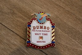 Disney Pin DUMBO The Flying Elephant Wait Time WDI Exclusive Spinner LE - $11.87