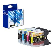 ESTON LC75 Black Color Ink Compatible Replacements for Brother LC-71 LC-... - $17.70