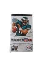 Madden NFL 06 (Sony PSP, 2005)  - $9.85