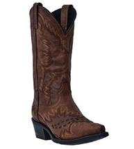 Laredo 68414 Men's Tan Sidewinder Boot Vintage Size 8 D - £108.88 GBP
