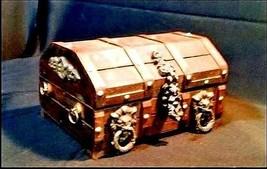 Jewelry Box AB 778 Vintage Wooden - $49.95