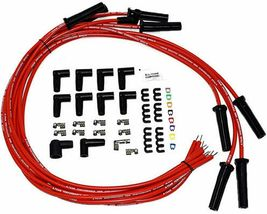 Pontiac SB BB HEI Distributor 301 326 350 389 400 421 428 455 8mm Spark Plug Kit image 5