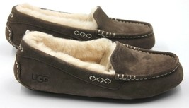 UGG Ansley Women's Genuine Suede Moccasins/Slippers Chocolate - NEW Auth... - $82.99