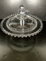 """Vintage Imperial Glass Candlewick Round Candy Dish 6 1/2"""" - $30.00"""