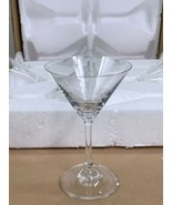Juvale Martini Glasses - Set of 6 Clear Classic 5-Ounce Cocktail Glasses NIB - $19.59