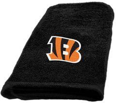 Cincinnati Bengals Hand Towel measures 15 x 26 inches - $16.95