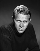 Steve Mcqueen Studio Portrait 16X20 Canvas Giclee King Of Cool 1966 - $69.99