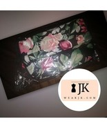 Isotoner Cloth Accessory Bag w/ Pink Flowers - $13.86
