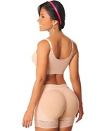 Fajas Colombianas Salome 0321 Compression Butt Lifter Shaping Short Leva... - $42.78