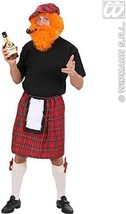 "Mens Scottish Kilts Costume Extra Large Uk 46"" For Scotland Fancy Dress ... - $27.79"