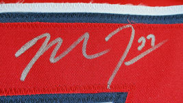 MIKE TROUT / AUTOGRAPHED LOS ANGELES ANGELS RED CUSTOM BASEBALL JERSEY / COA image 4
