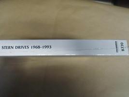 1968-1993 Clymer Volvo Stern Drive Service Shop Reparatur Manuell B770 Neu image 2