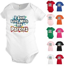 Still Live with parents Funny Kids T shirt Youth tee Baby Toddler bodysu... - $14.99