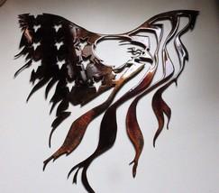 """Eagle and Flag Metal Wall Art 15 1/2"""" x 15"""" - $35.63"""