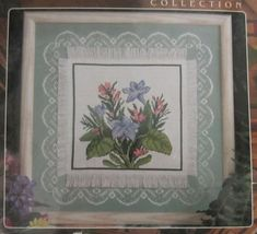 Designs For The Needle Hometown Coll. From My Garden Cross Stitch Kit 12... - $15.99