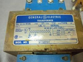 General Electric Transformer Model 9T58B91 50/60Hz .750 KVA - $48.10