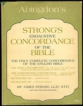 Strongs Exhaustive Concordance [Hardcover] Strong, James - $4.63