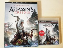 PS3 Assassin's Creed III Complete plus The Complete Official Guide - $17.81