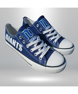 ny giants shoes women giants sneakers converse style new york fans gift ... - $55.00+