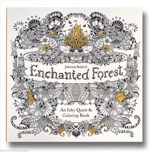 Johanna Basford39s Enchanted Forest An Inky Quest And Coloring Book