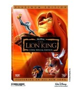 The Lion King (Two-Disc Platinum Edition) DVD Brand New - $7.99