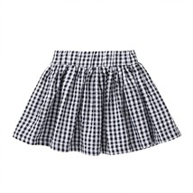 Girl's Aline Skirt Fashion Loveliness Joker Plaid Ladylike Comfort Skirt - $13.99