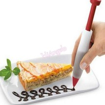 Chocolate Plate Pen Bakeware Cake Cookie Pastry Cream Decorating Syringe - €3,49 EUR