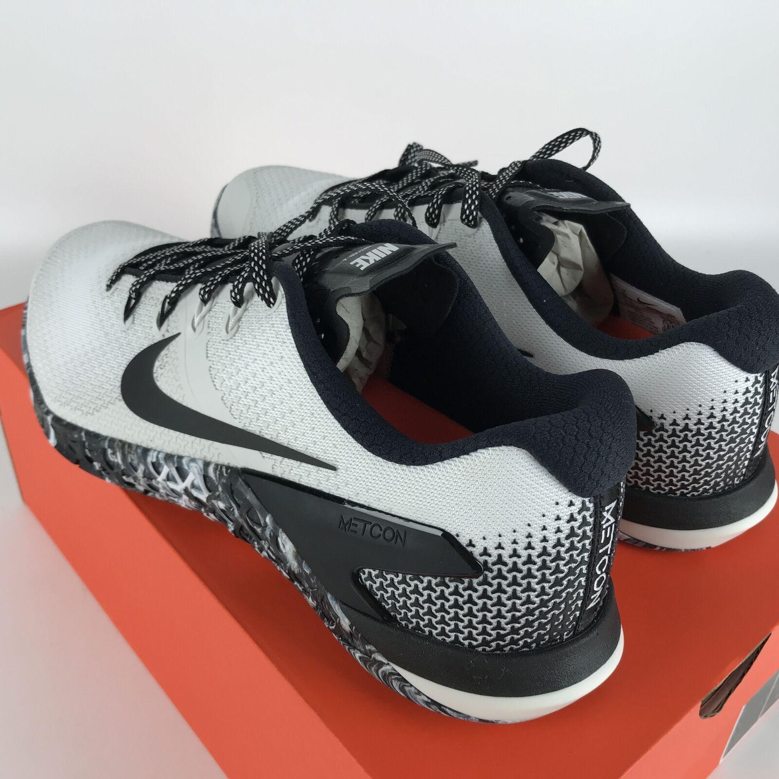 Nike Metcon 4 Running Shoes 11 White/Black-Sail AH7453 101 image 4