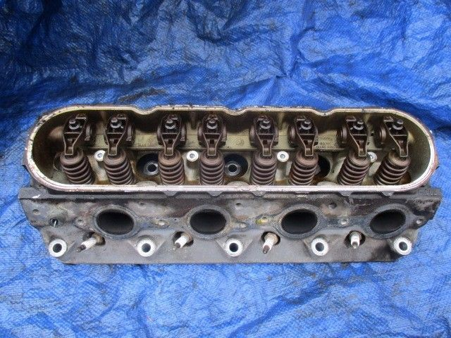 Primary image for 00-02 Chevy Silverado 4.8L V8 driver cylinder head assembly engine motor 862 LH