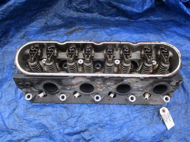 Primary image for 00-02 Chevy Silverado 4.8L V8 passenger cylinder head assembly engine motor 862