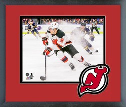 Taylor Hall New Jersey Devils 2016-17 Action -11x14 Matted/Framed Photo - $42.95