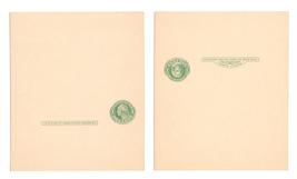 UY7 Paid Reply Postal Card 1915 U.S. 1c Washington Mint Unfolded Unsevered - $7.99