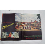 Vintage 1950's Oklahoma Musical Program Rodgers & Hammerstein TODD-AO - $25.12