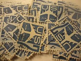 """US postage stamp lot C 51 Jet Silhoutte """"1958"""" CV $20.00 - 100 pack - $4.99"""