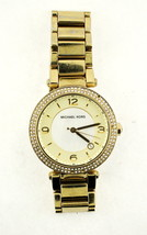 Michael Kors MK5089 Ladies Watch Gold Tone Mother Of Pearl Face - $69.95