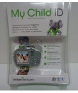 New Amber Alert My Child ID Safeguard Child Vital Information Gray Eleph... - $10.99