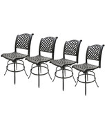Outdoor Swivel Bar Stools Set of 4 Las Vegas Patio Furniture Sunbrella C... - $1,695.00