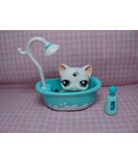 Discontinued Rare Authentic LPS Tattoo Cat/Kitten With Accessories - $34.98