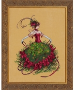 Miss Christmas Eve MD148 cross stitch chart Mir... - $13.95