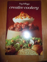 Vintage Kay Kellogg's Creative Cookery Recipe Booklet 1971 - $5.99