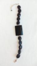 Black geode bracelet - $15.95