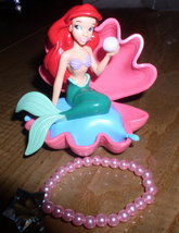 Disney Little Mermaid Ariel & bonus bracelet Figurine - $15.99